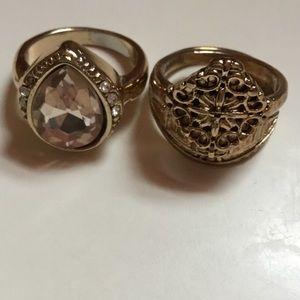 2 Piece Ring Set